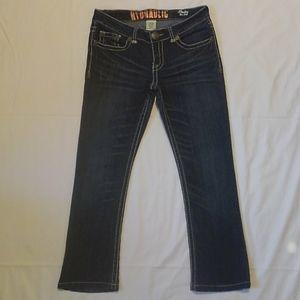 Hydraulic Bailey Slim Boot Denim Blue Jeans